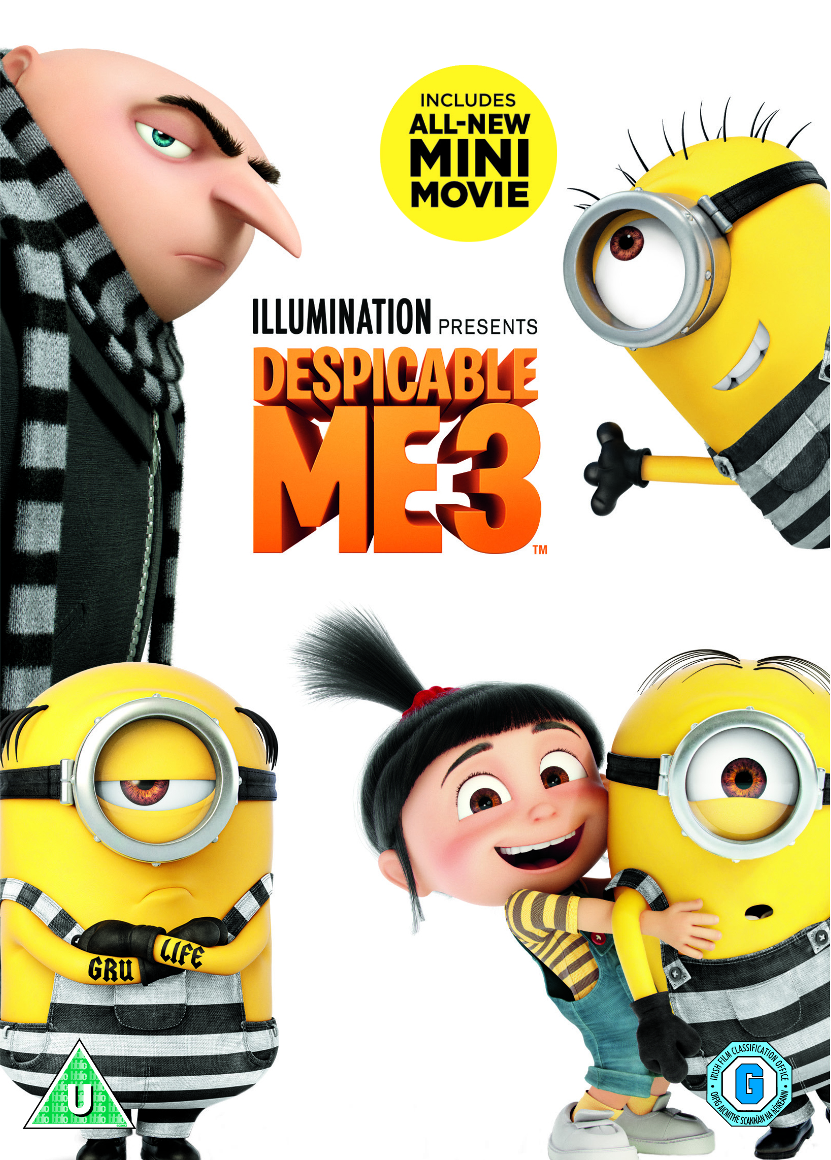 WIN DESPICABLE ME 3 ON DVD!