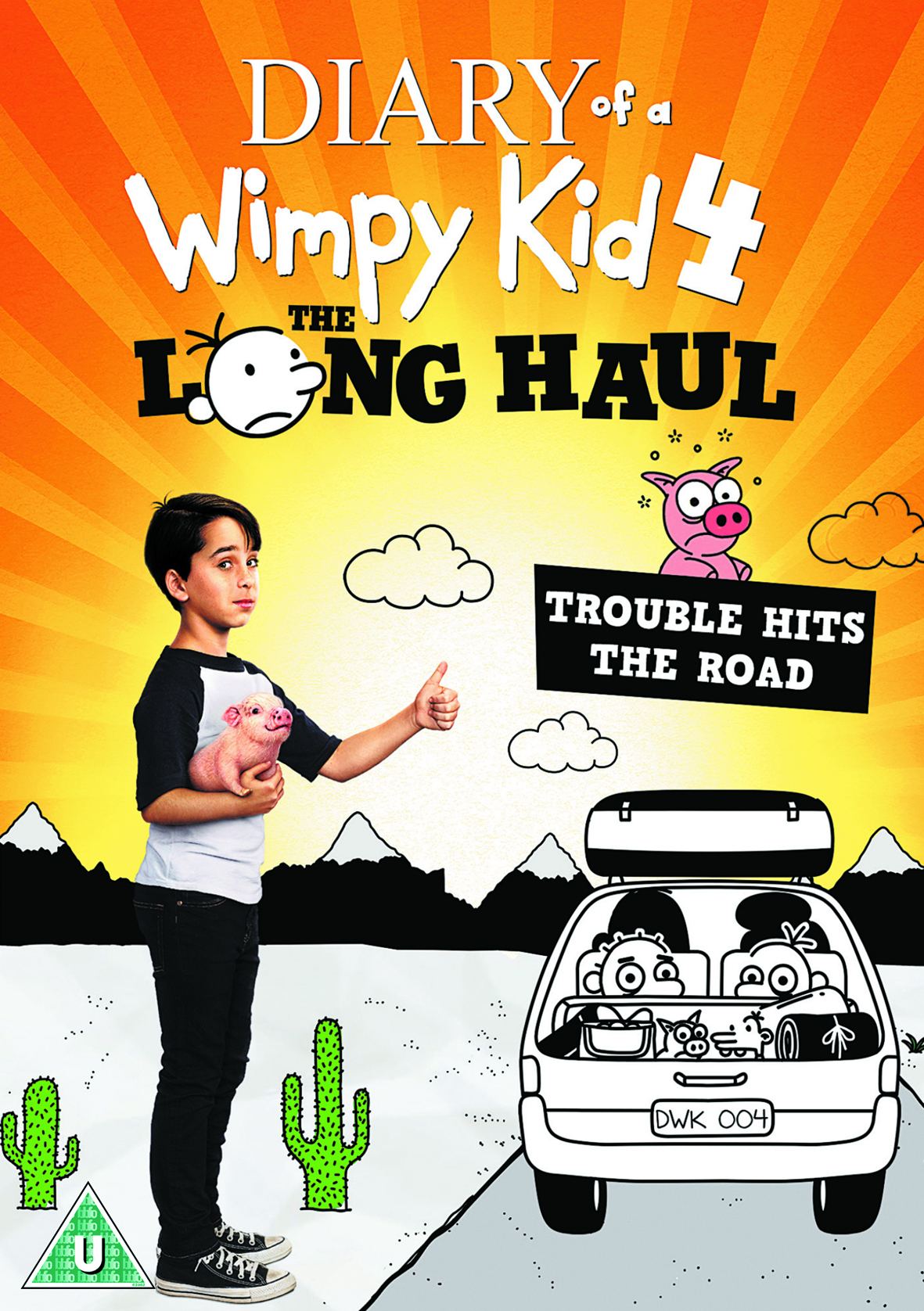 WIN DIARY OF A WIMPY KID: THE LONG HAUL ON DVD!